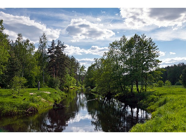 Река Волгуша - для байдарок и не только