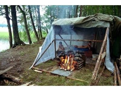 Как сделать походную баню Советы туриста-банщика